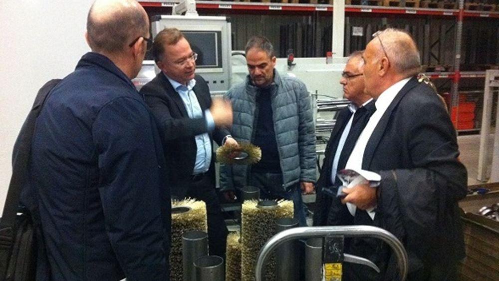 Νέες συνεργασίες στον τομέα της σιδηροβιομηχανίας και επεξεργασίας μετάλλων και μηχανημάτων