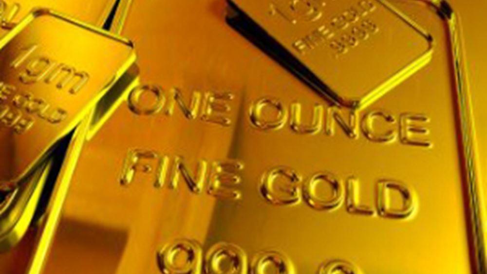 Μικρές απώλειες ο χρυσός μετά τα υψηλά πέντε μηνών