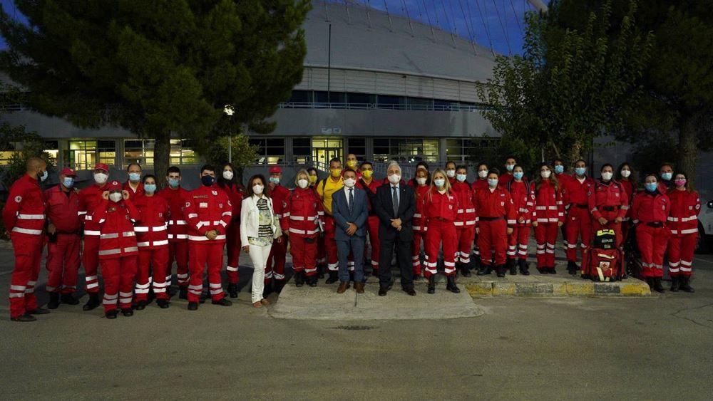 Ο Λ. Αυγενάκης τίμησε τους εθελοντές του Ερυθρού Σταυρού για την προσφορά τους στο ΡάλιΑκρόπολις