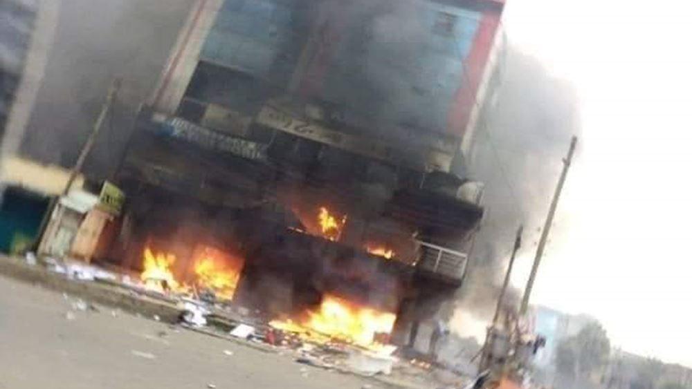 Τρεις φονικές εκρήξεις συγκλόνισαν την πρωτεύουσα της Αιθιοπίας