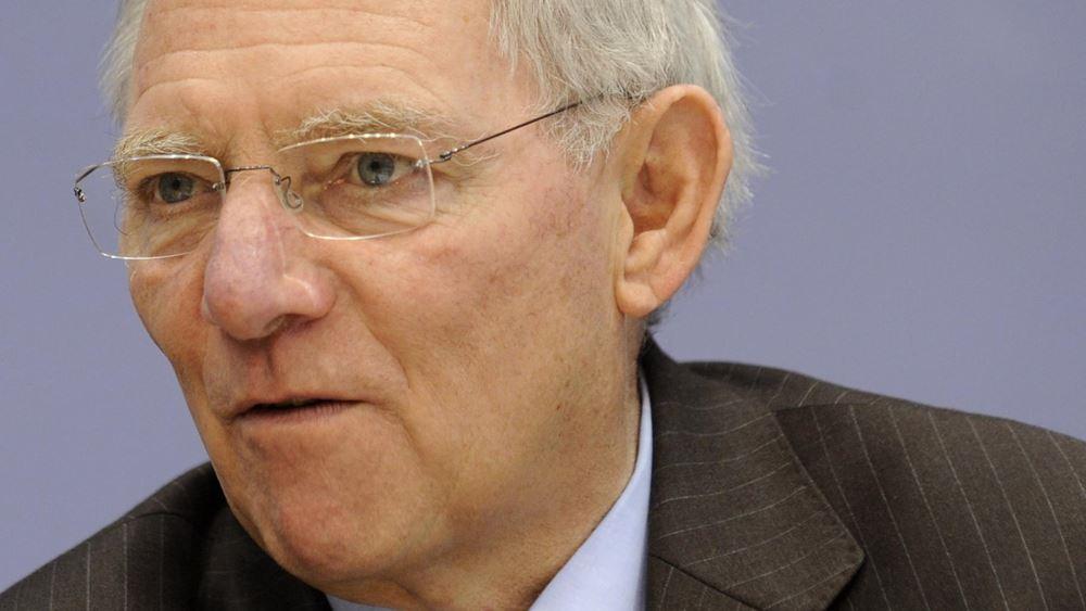 Schaeuble: Οι προτάσεις της Ελλάδας δεν δικαιολογούν αισιοδοξία για την πρόοδο