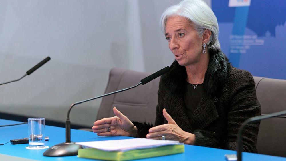 Λαγκάρντ: Επιβράδυνση, αλλά όχι ύφεση, της παγκόσμιας οικονομίας