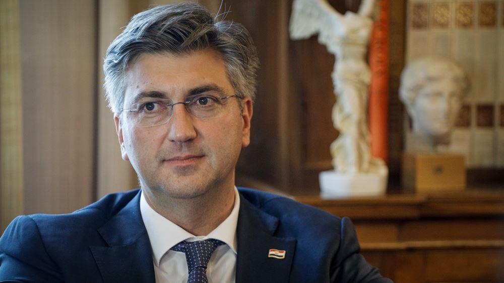 Κροατία: Θετικός στον κορονοϊό ο πρωθυπουργός Αντρέι Πλένκοβιτς