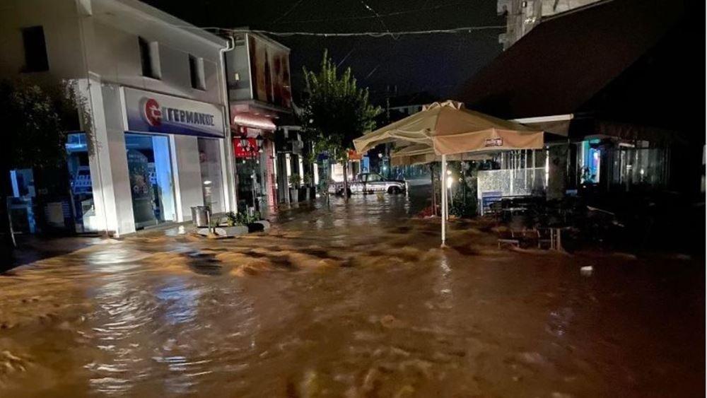 Ιανός: Ζημιές σε περισσότερα από 3 χιλιάδες κτίρια σε Κεντρική και Δυτική Ελλάδα