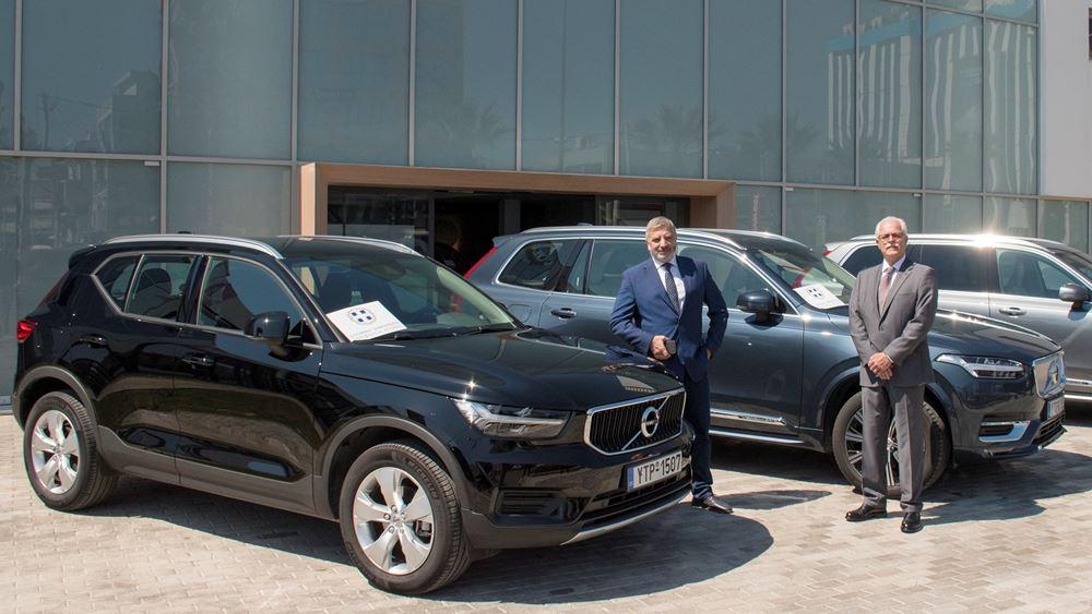 Η Volvo Car Hellas στην μάχη της πανδημίας
