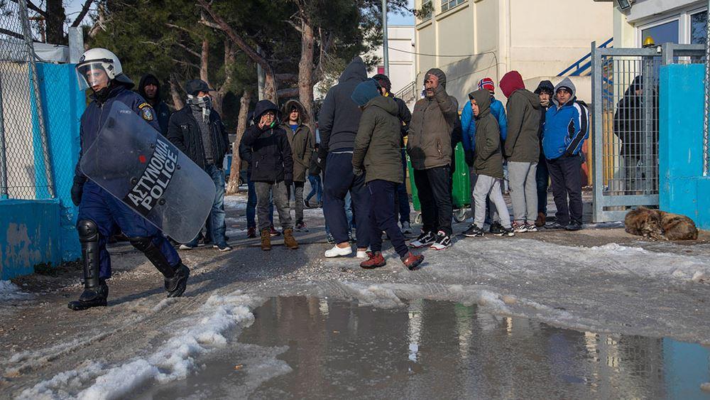 Διαβατά: Τέσσερις τραυματίες μετά από συμπλοκή στη δομή προσφύγων