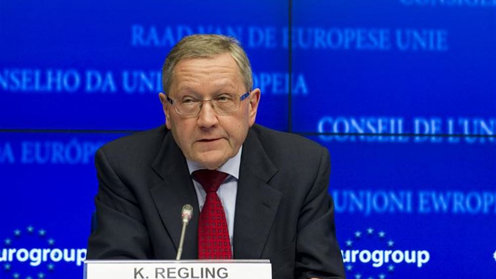 Regling: Αν όλα πάνε καλά, η Ελλάδα θα βγει από το πρόγραμμα το 2018