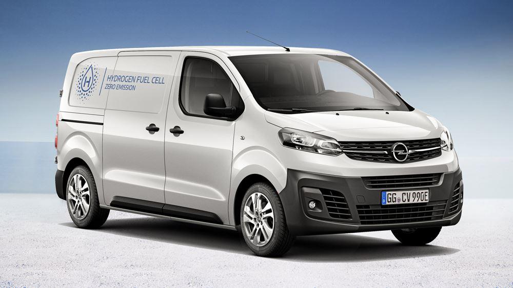 H Opel παρουσιάζει το Vivaro-e Hydrogen