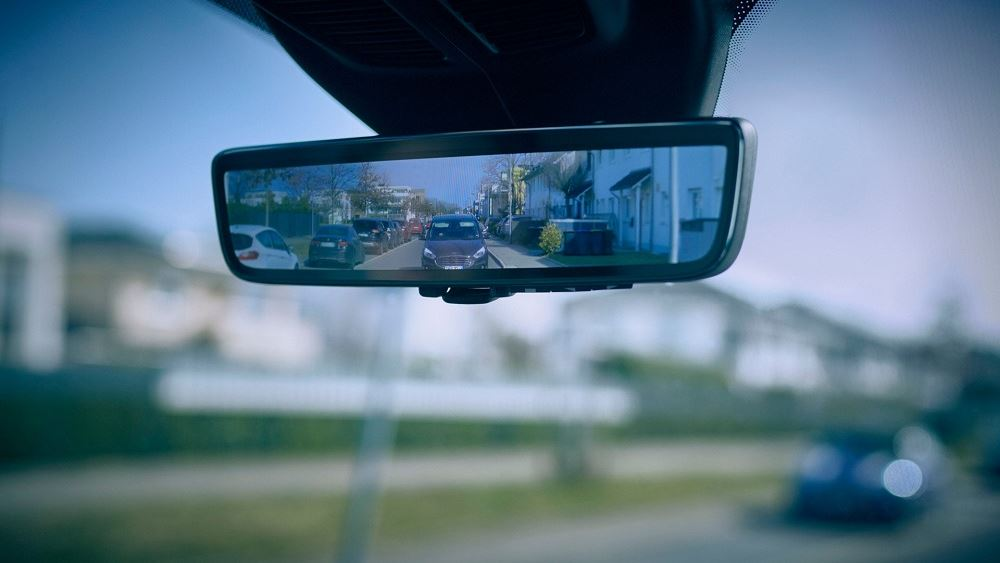 O έξυπνος καθρέπτης της Ford