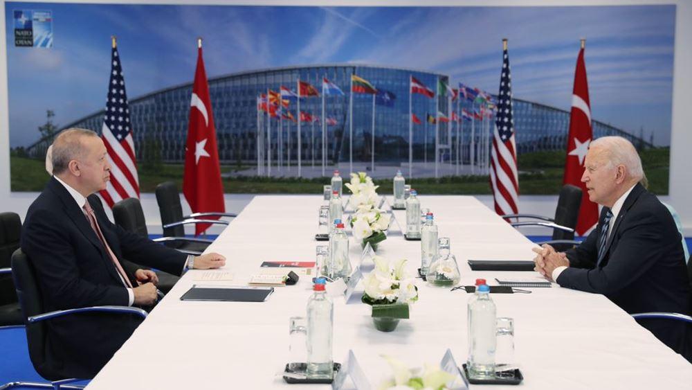 Ο Ερντογάν είπε στον Μπάιντεν ότι δεν αλλάζει θέση η Τουρκία στους S-400