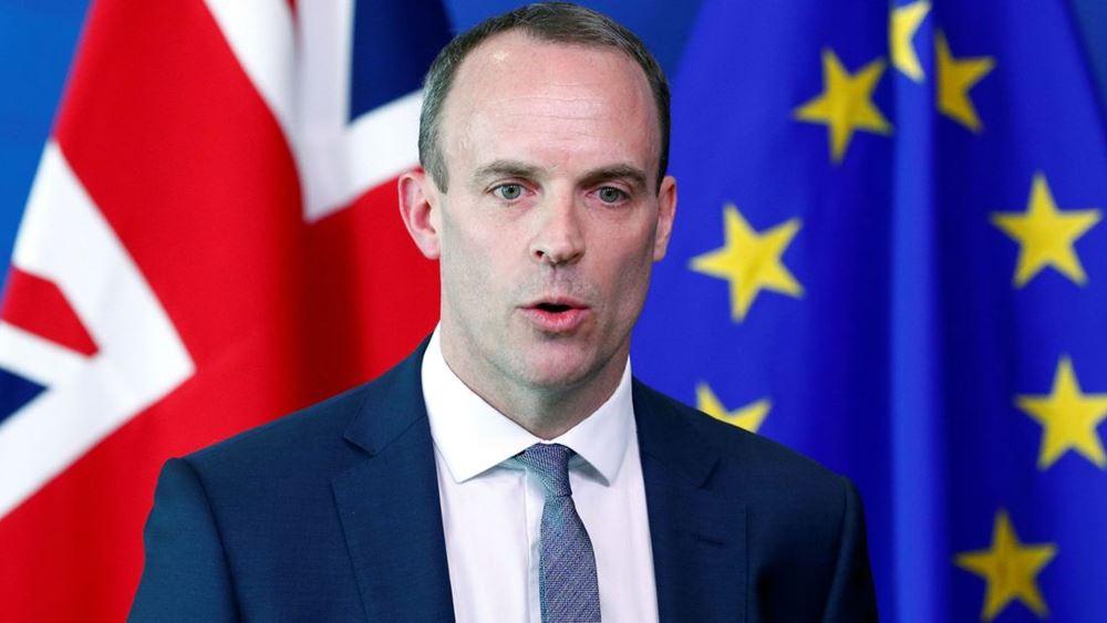 Ντ. Ράαμπ: Δεν αποκλείει αναστολή λειτουργίας της Βουλής για να περάσει το Brexit χωρίς συμφωνία