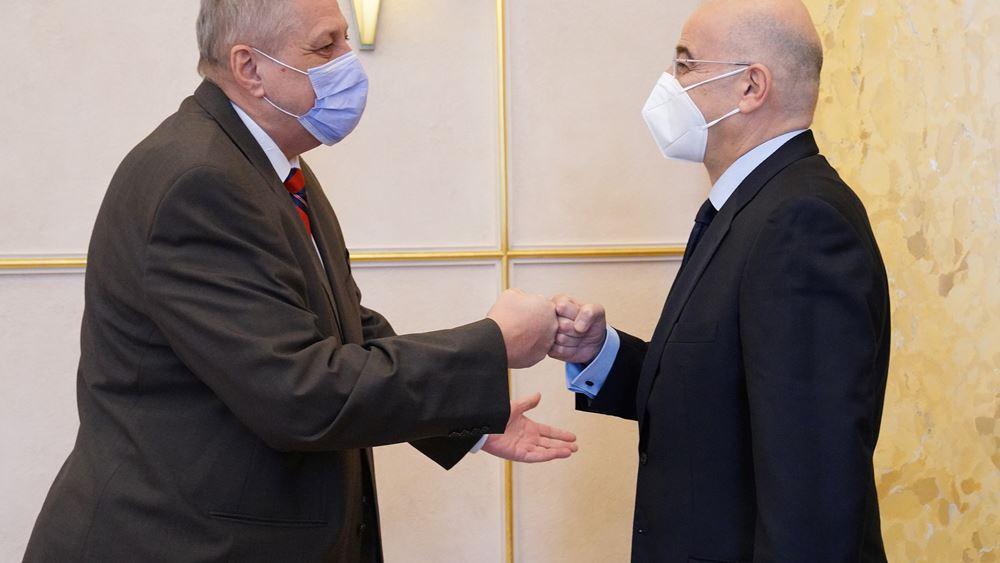 Στη Γενεύη ο Ν. Δένδιας- Συνάντηση με τον Ειδικό Απεσταλμένο του ΟΗΕ για τη Λιβύη