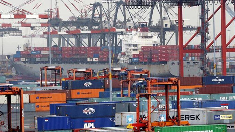 ΕΛΣΤΑΤ: Μειώθηκε 1,1% η δύναμη του ελληνικού εμπορικού στόλου τον Μάιο