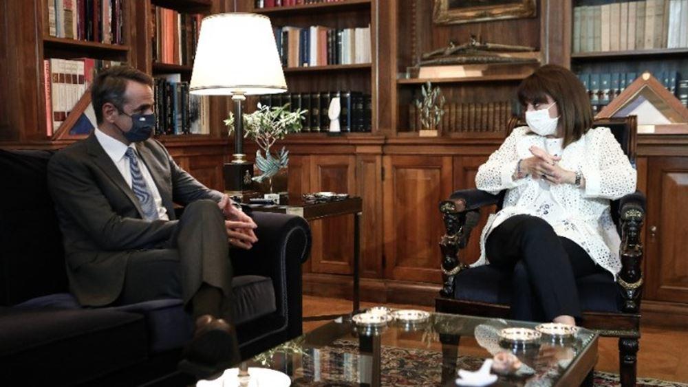 Κ. Μητσοτάκης: Είμαι απολύτως σίγουρος ότι και αυτή τη φορά η ελληνική κοινωνία αλλά και η ελληνική πολιτεία θα σταθούν στο ύψος των περιστάσεων