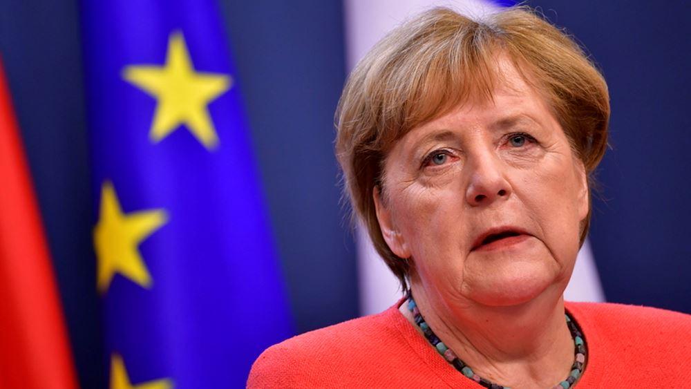 Επιβεβαιώνει την παρέμβαση Μέρκελ μεταξύ Ελλάδας-Τουρκίας το Βερολίνο