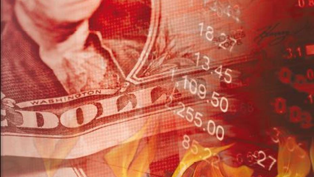 Χάθηκαν 5 τρισ. δολάρια σε έναν μήνα στις αγορές