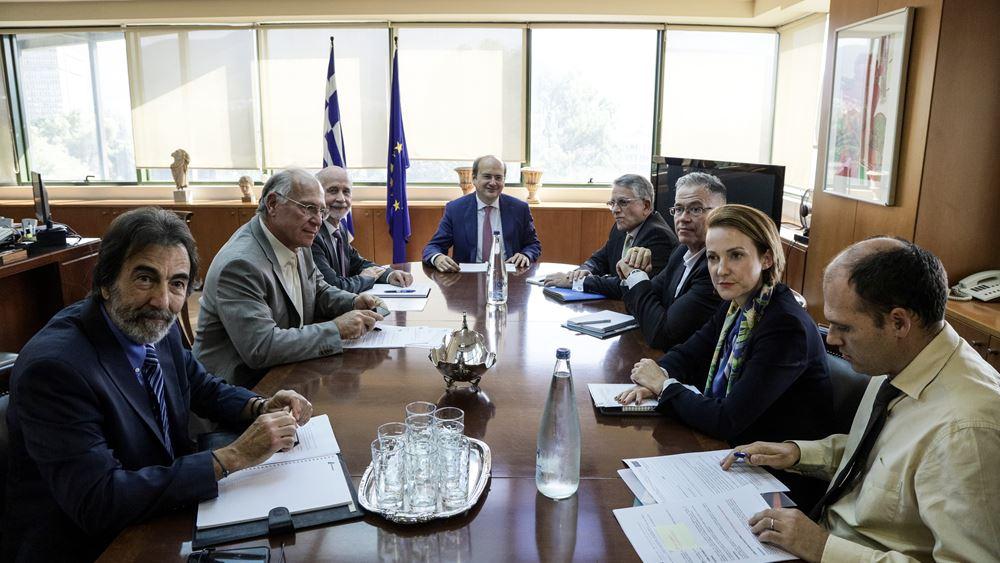 Συνάντηση Κ. Χατζηδάκη με τον Σύνδεσμο Μεταλλευτικών Επιχειρήσεων για επιτάχυνση της αδειοδότησης