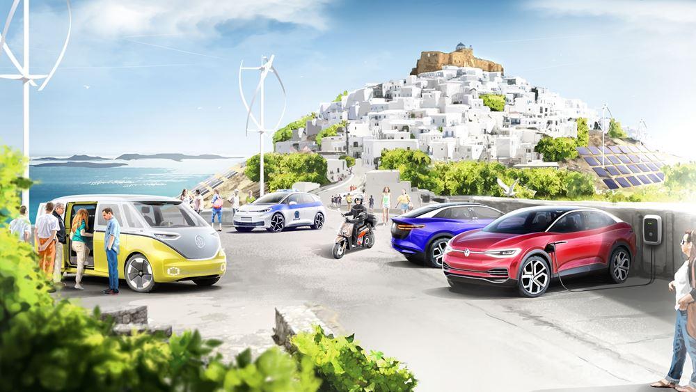 Μοναδικό στον κόσμο για την Volkswagen το project της Αστυπάλαιας