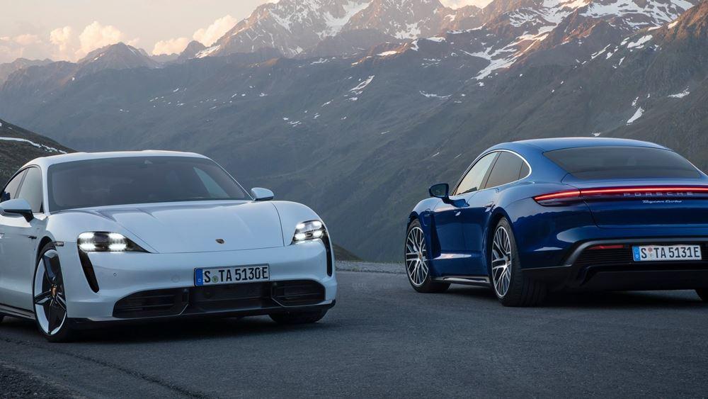 Porsche: Αποκάλυψη για την Taycan (vid.)