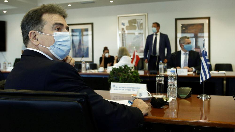 Μ. Χρυσοχοΐδης: Δεν θα διαπραγματευτούμε τη δημόσια υγεία και την ανθρώπινη ζωή