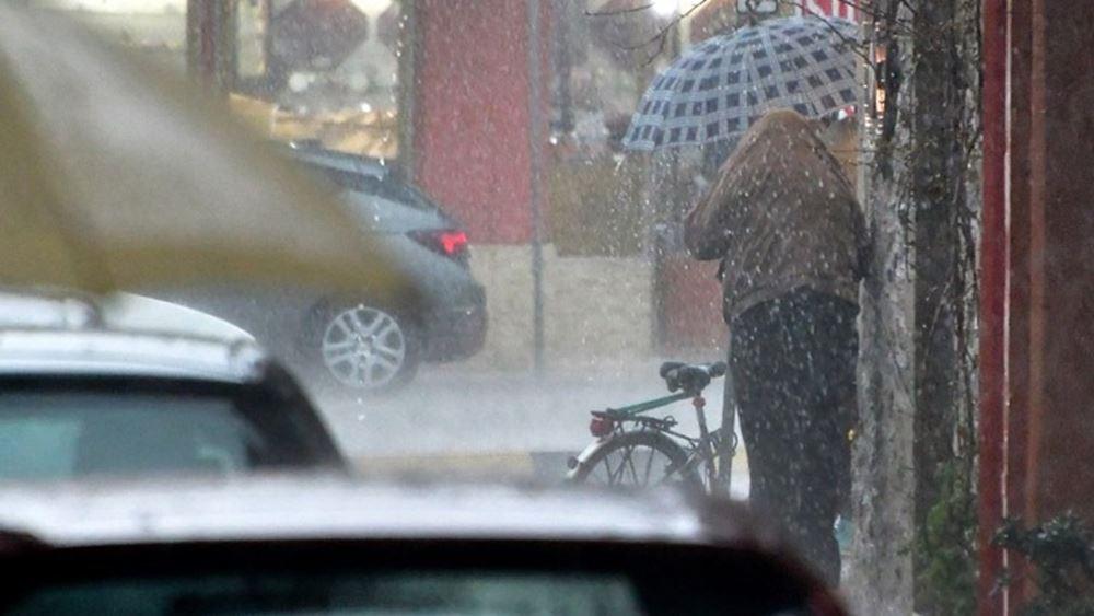 """Ισχυρές βροχές και καταιγίδες σήμερα λόγω του """"Μπάλλου"""""""