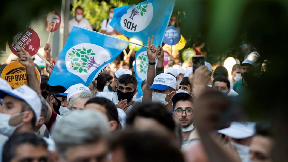 HDP Διαδηλωση Τουρκια