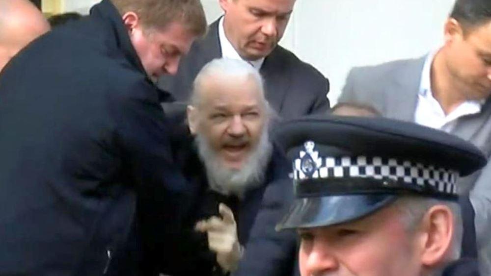 Συνελήφθη ο Τζούλιαν Ασάνζ, συνιδρυτής των WikiLeaks