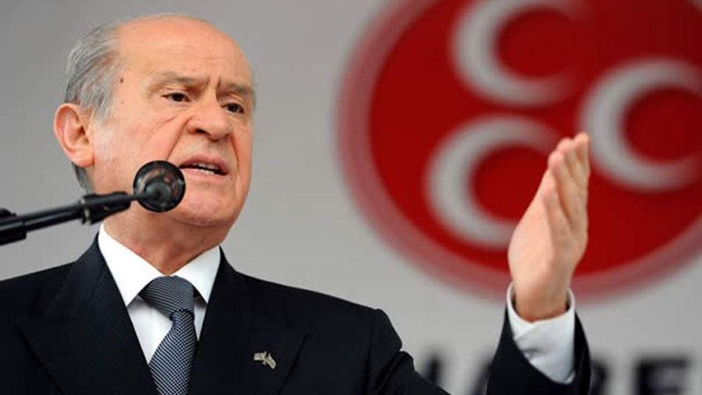Μπαχτσελί κατά Τούρκων γιατρών: Διαλύστε την Ιατρική Ένωση Τουρκίας, είναι συνωμότες