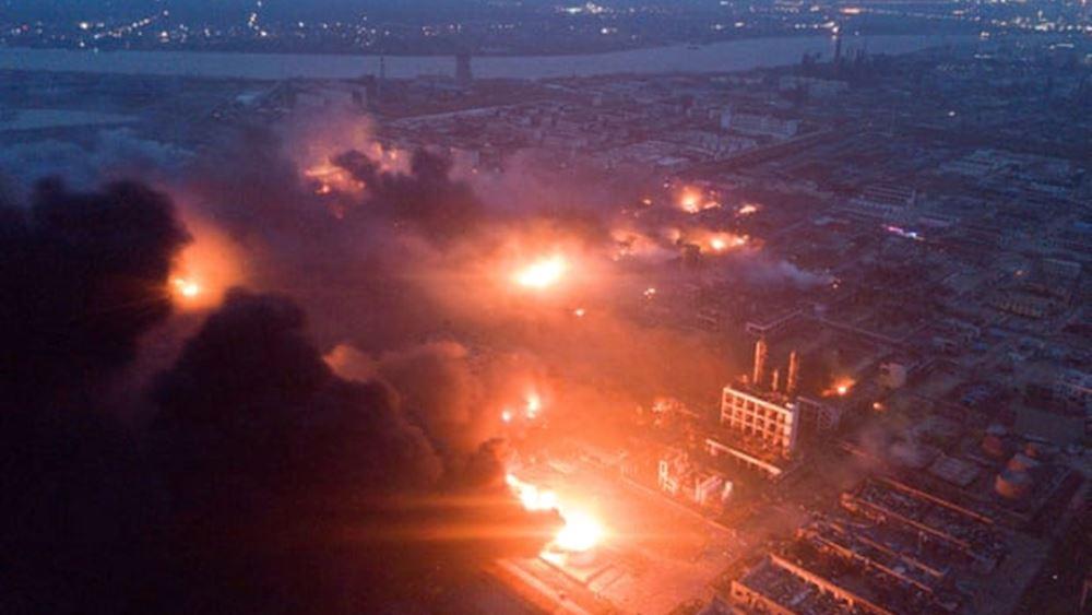 Κίνα: Τουλάχιστον 12 νεκροί  από έκρηξη σε τμήμα αγωγού φυσικού αερίου