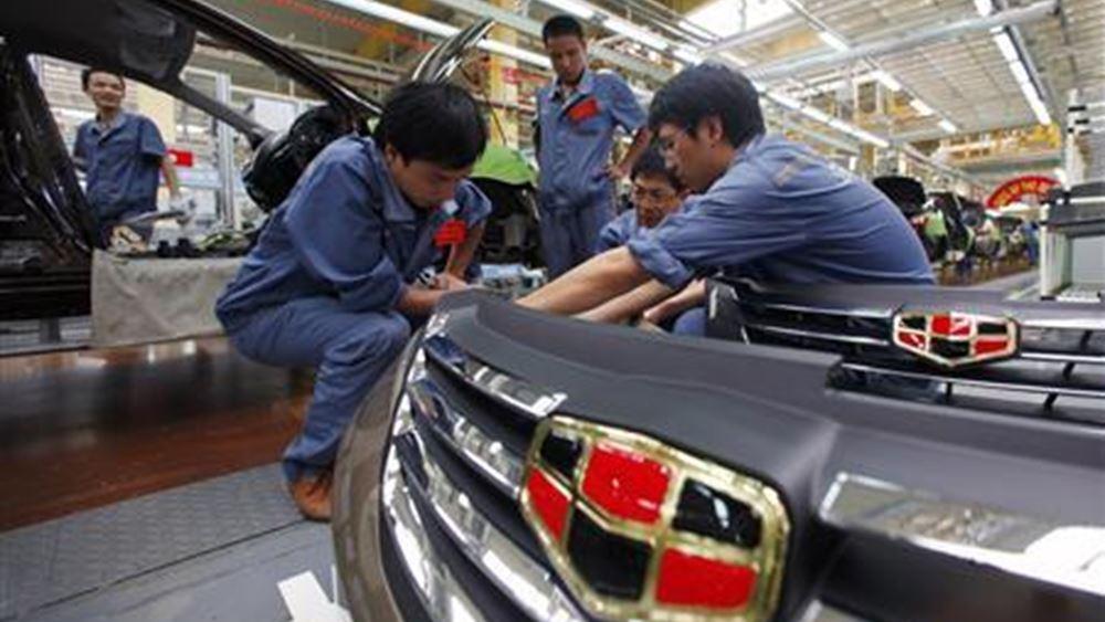 Geely Automobile: Υψηλό ενδοσυνεδριακής ανόδου της μετοχής από το 2018