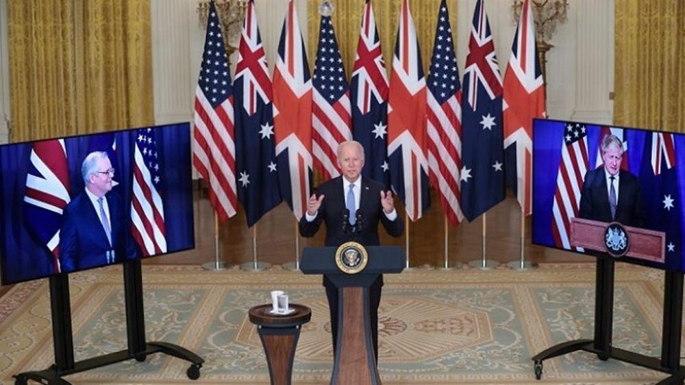 Νέα στρατηγική συμμαχία ΗΠΑ - Αυστραλίας - Βρετανίας