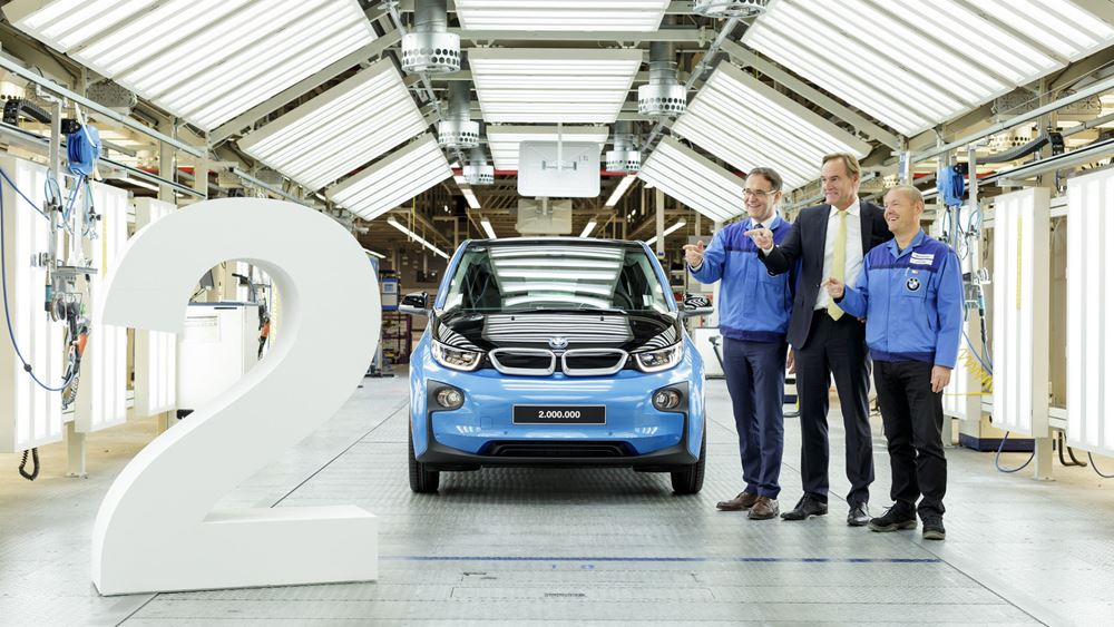 BMW Group: Τρία εκατομμύρια οχήματα στο εργοστάσιο στη Λειψία