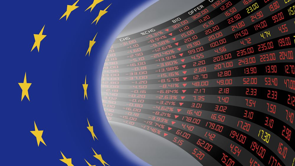 Απώλειες στις ευρωαγορές με το βλέμμα στις εμπορικές συνομιλίες