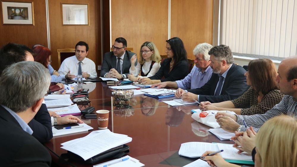 Ο Ν. Μηταράκης προήδρευσε στην πρώτη συνάντηση της Ομάδας Εργασίας Εργοσήμου και Τίτλου Κτήσης