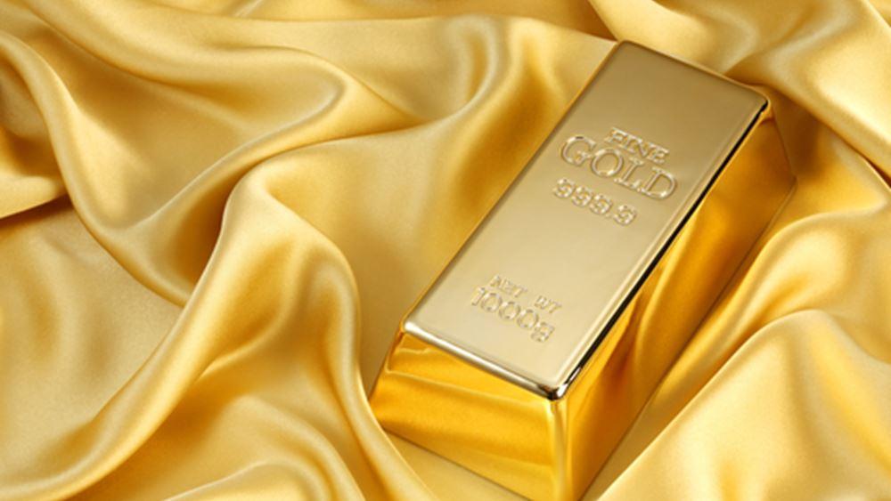 """""""Έσπασε"""" το πτωτικό σερί ο χρυσός, κατέγραψε όμως απώλειες στην εβδομάδα"""