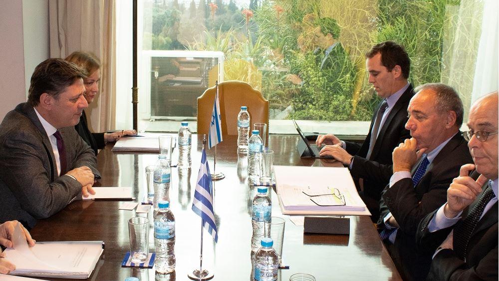 Η στρατηγική σχέση Ελλάδας-Ισραήλ στο επίκεντρο της συνάντησης Βαρβιτσιώτη - γγ ΥΠΕΞ του Ισραήλ