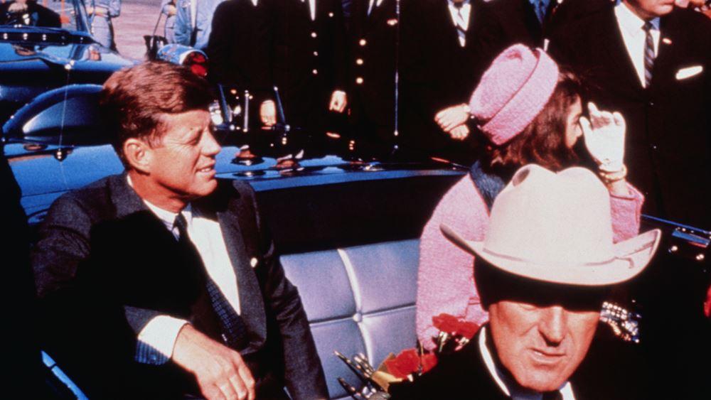 Trump: Στη δημοσιότητα τα έγγραφα που αφορούν τη δολοφονία του Kennedy