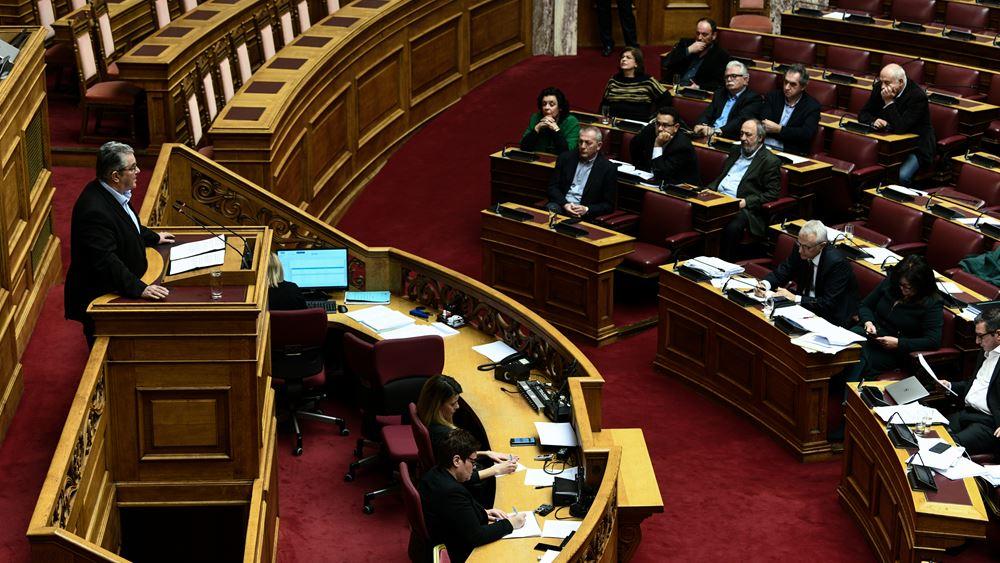 Ψηφίστηκε το νομοσχέδιο για την αναδιάρθρωση της πολιτικής προστασίας