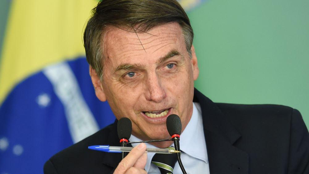 """Μπολσονάρου: Η βιασύνη για τα εμβόλια δεν δικαιολογείται καθώς """"η πανδημία φτάνει στο τέλος της"""""""