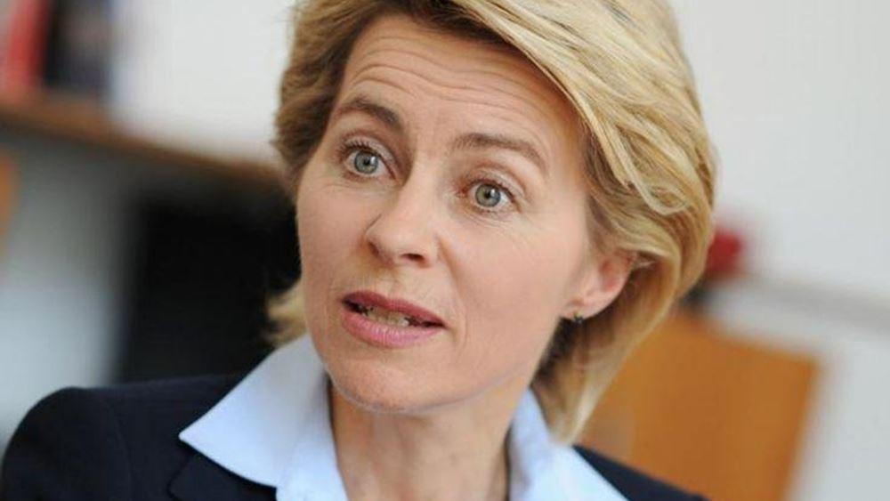 """""""Βολές"""" κατά της Φον ντερ Λάιεν για συμμετοχή της σε προεκλογικό βίντεο των συντηρητικών της Κροατίας"""