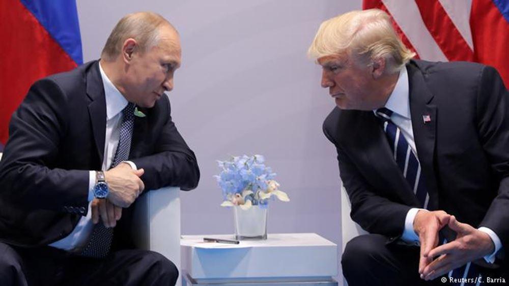 """Ο Πούτιν καλεί τον Τραμπ σε μια """"πραγματιστική συνεργασία"""""""