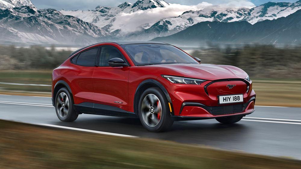 Οι κορυφαίες τεχνολογίες της νέας Ford Mustang Mach-E