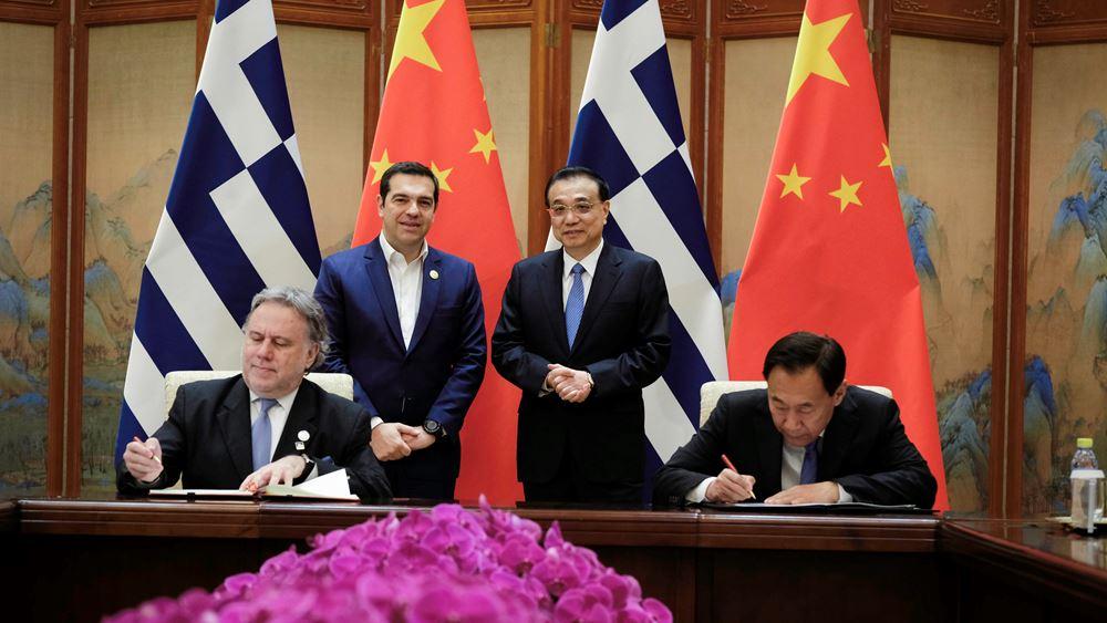 Πεκίνο: Υπεγράφη το νέο τριετές Πλαίσιο Συνεργασίας Ελλάδας-Κίνας