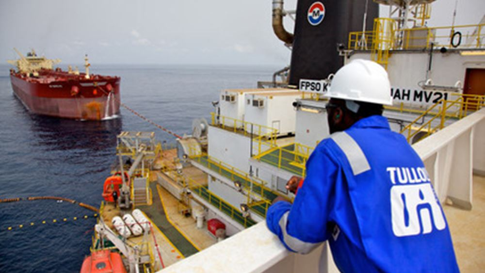 "Tullow Oil: ""Βυθίζεται"" 58% η μετοχή - Περιέκοψε τις εκτιμήσεις για την παραγωγή"