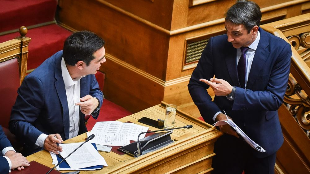 """Εκτός ελέγχου η προσωπική κόντρα Τσίπρα- Μητσοτάκη- """"Αρένα"""" η Βουλή"""