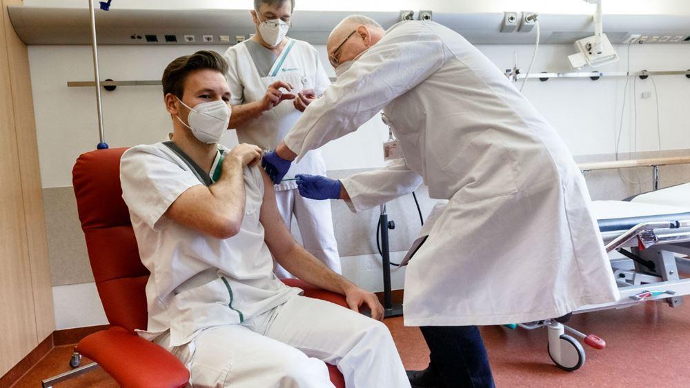 Γερμανία εμβολιασμός