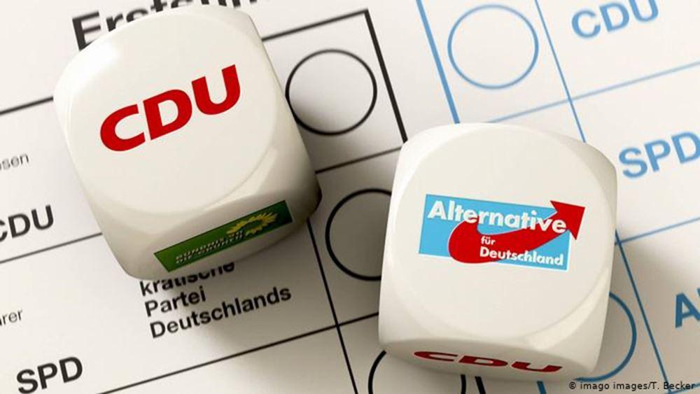 Γερμανία: Καμία πιθανότητα συγκυβέρνησης με AfD στη Σαξονία, ξεκαθαρίζει το CDU