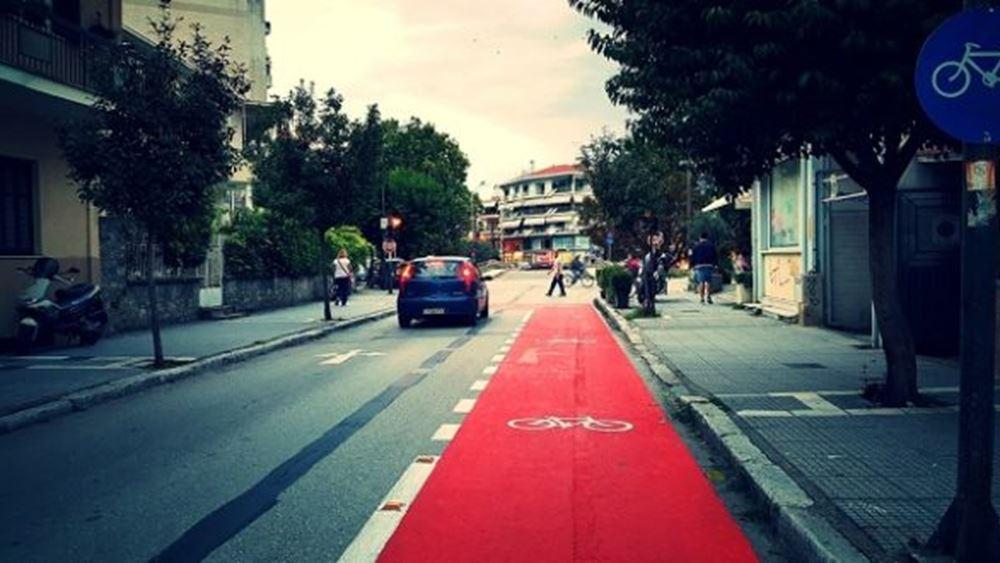 Χτίζει νέους ποδηλατοδρόμους ο Δ. Τρικάλων