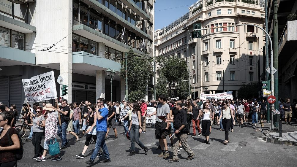 Εικοσιτετράωρη απεργία μετά την κατάθεση του νέου ασφαλιστικού προανήγγειλε η ΑΔΕΔΥ
