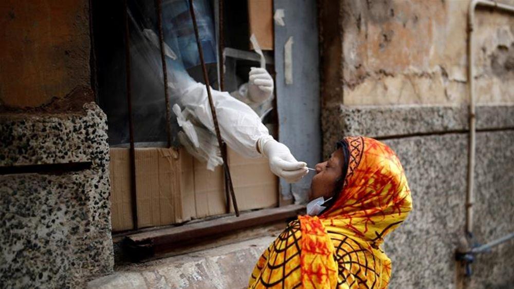 Ινδία: Αριθμός ρεκόρ 152.879 νέων κρουσμάτων κορονοϊού καταγράφηκε σε ένα 24ωρο